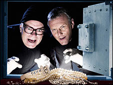 Anthony Head (r) and Warren Clarke in The Invisibles