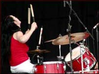 Meg White de los White Stripes