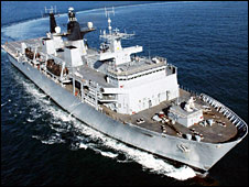 HMS Bulwark (Pic: Ministry of Defence)