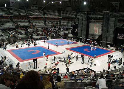 The Piazzale dello Sport arena in Rome