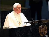 Папа Римский в ООН