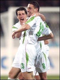 Algeria national team players