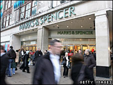 Marks and Spencer store on Oxford Street, London