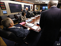 reunión del Consejo de Seguridad Nacional de la Casa Blanca, Washington, AP