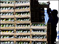 Tienda de productos de primera necesidad, AFP