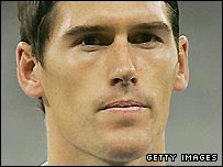 England and Aston Villa midfielder Gareth Barry