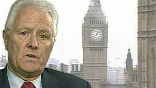 John McFall MP, chair of the Treasury Select Committee, image courtesy of BBC