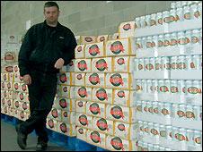 Beer supermarket owner, David West