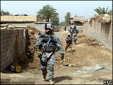 US soldiers in Iraq (File picture 03/08)