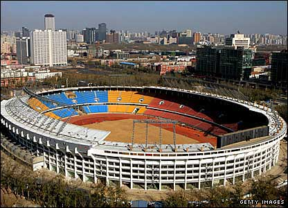 The Beijing Workers' Stadium