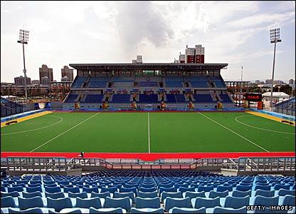 The Olympic Green Hockey Field