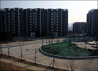 The Beijing Olympic Village
