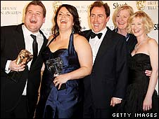 The Gavin and Stacey team