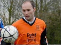 King's Lynn striker Matt Nolan (Linnets on Film)