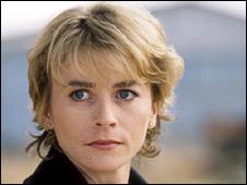 Nicola Cowper as Det Sgt Helen Diamond in TV series Dangerfield