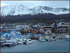 Town of Ushuaia, Tierra del Fuego