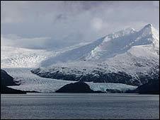 Glacier, Tierra del Fuego
