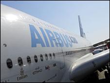 Airbus A380 super jumbo