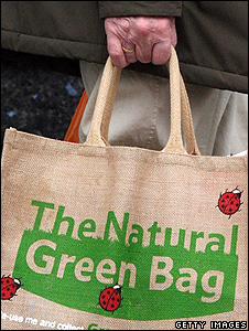 Reusable shopping bag (Getty Images)