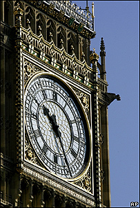 El Big Ben, Londres, AP