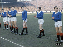 The Rangers team in 1960/61
