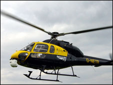 BTP helicopter