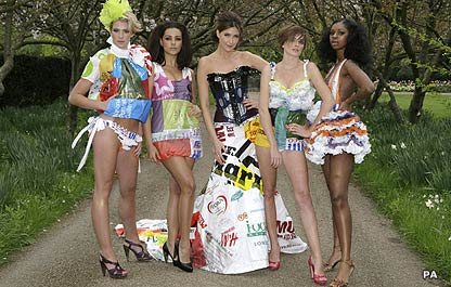 Contestants in Britain's Next Top Model