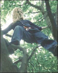 Girl climbing in 1999