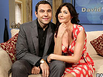 David Walliams and Lisa Snowdon