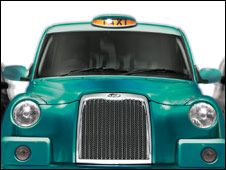 A TX4 cab