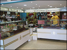 Ibtissam Ben-Amer's chocolate shop