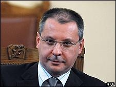 Bulgaria's Prime Minister Sergei Stanishev