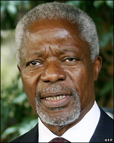 Kofi Annan (file picture March 08)