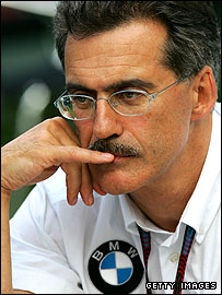 BMW team principal Mario Theissen