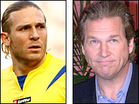 Andriy Voronin and Jeff Bridges