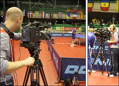 The Olympics Dreams cameras follow Paul Drinkhall