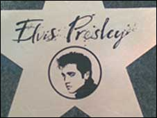 A plaque at Prestwick airport declares it was the only place in the UK Elvis visited