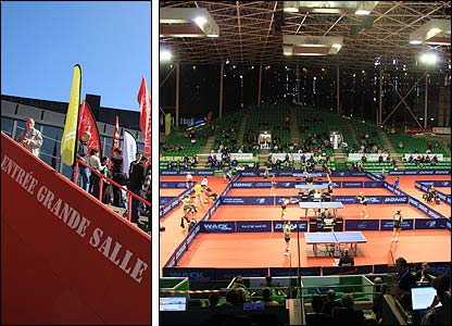 The European Table Tennis qualifying tournament in Nantes