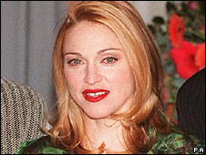 Madonna in 2007