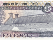 Bushmills bank note