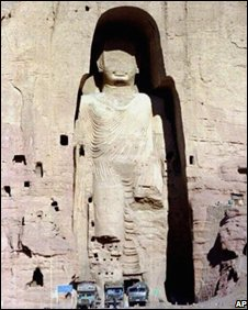 Bamiyan Buddha, pictured in 1997