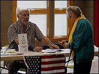 التصويت