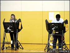 Two voters in Pennsylvania primary