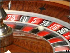 Roulette wheel - file photo