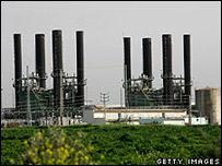 Planta eléctrica de Gaza