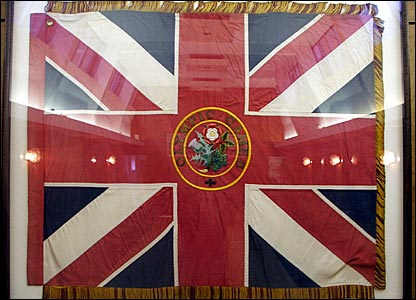 Great Britain's 1908 Olympic flag
