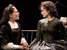 Susannah Fellows and Jill Paice in Gone with the Wind