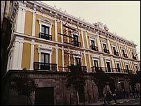 Palacio de Gobierno en Bolivia