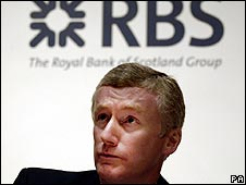 Sir Fred Goodwin, RBS chief executive