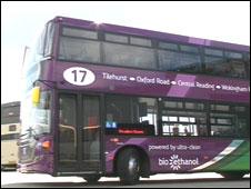 Bio-ethanol bus